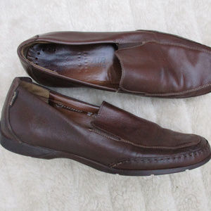 MEPHISTO ELDEF BROWN LEATHER LOAFERS ~ 11.5